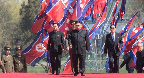 3 GUERRE MONDIAL 2017 EN MARCHE : Pyongyang promet à Washington une guerre pour la réunification de la Corée