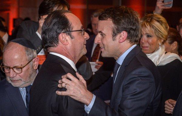 """La France a choisie la continuité vers le Nouvel ordre mondial satanique nazi : François Hollande : """"Je voterai Emmanuel Macron"""" : Présidentielle 2017 en France"""