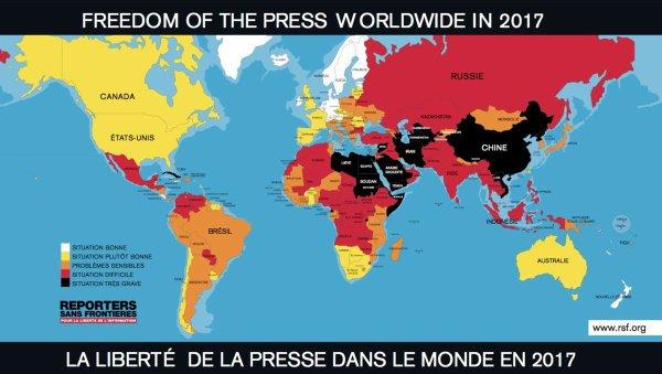 NOUVEL ORDRE MONDIAL SATANIQUE NAZI : Partout, en France comme dans le reste du monde, on enterre la liberté de la presse