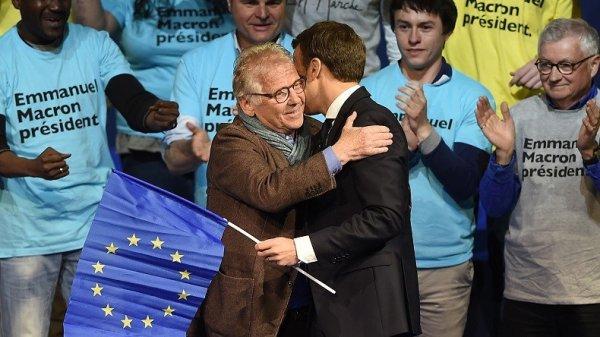 NOUVEL ORDRE MONDIAL SATANIQUE NAZI ET FIN DE LA FRANCE EN MARCHE : Cohn-Bendit, soutien de la campagne de Macron
