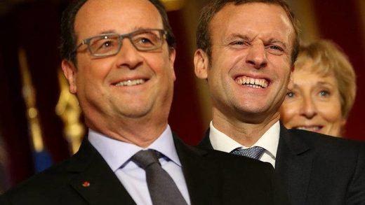 NOUVEL ORDRE MONDIAL SATANIQUE NAZI :Dans son livre « Un président ne devrait pas dire ça » Hollande explique nettement qu'il a fondé « en Marche » le mouvement d'Emmanuel Macron.