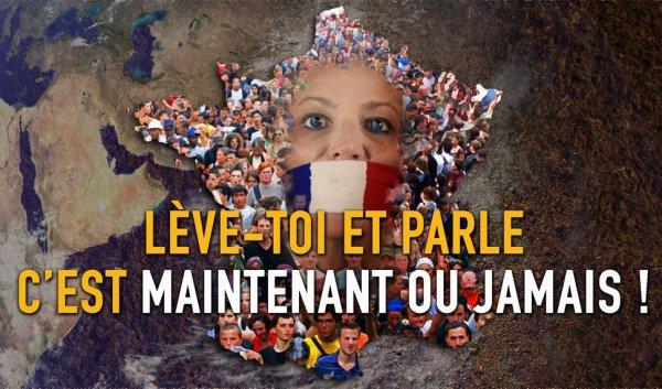FIN DE LA FRANCE EN MARCHE : JOUR J :Lève toi et parle, c'est maintenant ou jamais…..