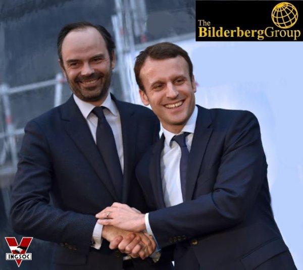 FIN DE LA FRANCE EN MARCHE : Un tandem Bilderberg à la tête de la France