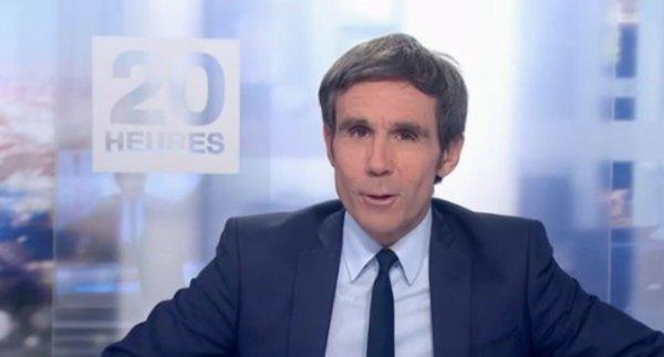 NOUVEL ORDRE MONDIAL SATANIQUE NAZI :David Pujadas viré du 20 heures. L'effet Macron ?