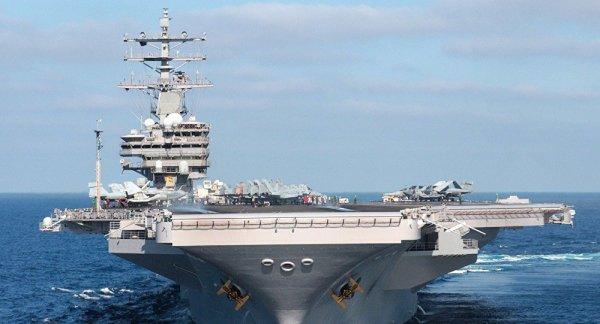 3 GUERRE MONDIAL 2017 EN MARCHE :Le porte-avions US Ronald Reagan se dirige vers la Corée du Nord