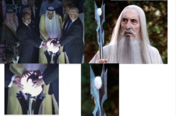NOUVEL ORDRE MONDIAL SATANIQUE NAZI :Magie noire et satanisme: le Net s'en prend à Trump en Arabie saoudite
