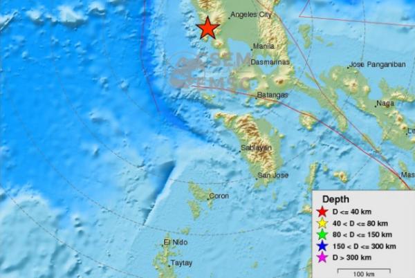 BIG ONE MONDIAL IMMINENT ET FIN DE VIE SUR TERRE ! ARRIVEE DE NIBIRU :Un séisme de magnitude 5.4 ressenti aux Philippines