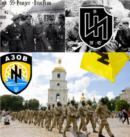 NOUVE ORDRE MONDIAL SATANIQUE NAZI ET 3 GUERRE MONDIAL 2017 EN MARCHE : Le néonazisme en Europe est Otan