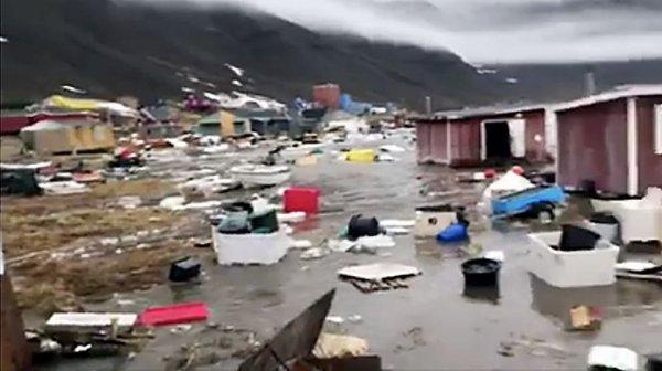 BIG ONE MONDIAL IMMINENT ET FIN DE VIE SUR TERRE ! ARRIVEE DE NIBIRU :La côte ouest du Groenland touchée par un tsunami