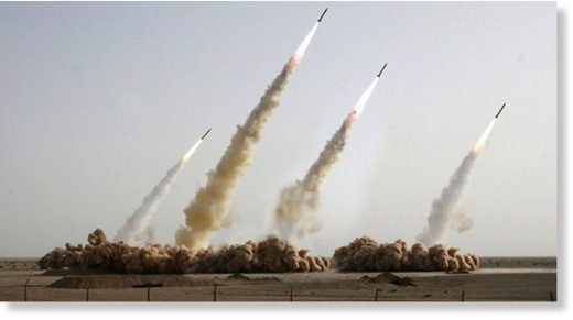 3 GUERRE MONDIAL 2017 EN MARCHE :L'Iran lance des missiles sur des bases de terroristes en Syrie