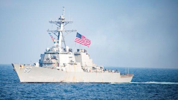 3 GUERRE MONDIAL 2017 EN MARCHE :Pékin déploie des navires de guerre en mer de Chine après à la «provocation» de Washington