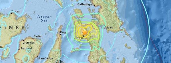 BIG ONE MONDIAL IMMINENT ET FIN DE VIE SUR TERRE ! ARRIVEE DE NIBIRU :Un tremblement de terre M6.5 extrêmement dangereux frappe les Philippines