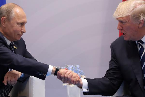 """""""Que le meilleur gagne""""! Photo prise au cours des dernières heures lors du G20."""