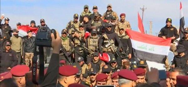 LE NOUVEL ORDRE MONDIAL SATANIQUE NAZI TREMBLE ! LE REVEIL DE LA FORCE EST EN MARCHE :  A Mossoul the game is over