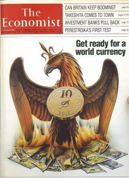 NOUVEL ORDRE MONDIAL SATANIQUE NAZI :Flashback en 1988 : Préparez-vous à une monnaie mondiale en 2018