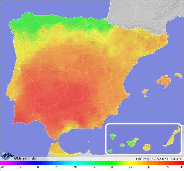 BIG ONE MONDIAL IMMINENT ET FIN DE VIE SUR TERRE ! ARRIVEE DE NIBIRU :L'Espagne s'attend à 50°C