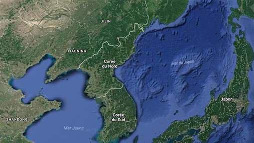 BIG ONE MONDIAL IMMINENT ET FIN DE VIE SUR TERRE ! ARRIVEE DE NIBIRU :Séisme sous-marin au large de la Corée du Nord
