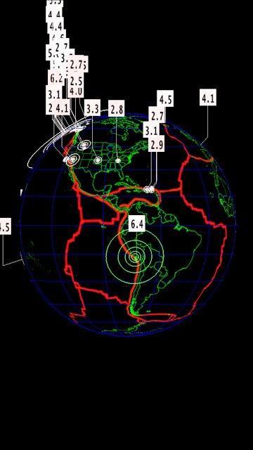 BIG ONE MONDIAL IMMINENT ET FIN DE VIE SUR TERRE ! ARRIVEE DE NIBIRU :Séisme de magnitude 6.4 au Pérou
