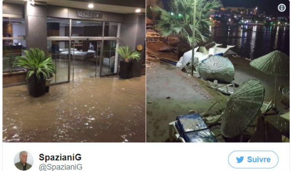 BIG ONE MONDIAL IMMINENT ET FIN DE VIE SUR TERRE ! ARRIVEE DE NIBIRU :Un puissant séisme provoque un tsunami sur les côtes de la Turquie