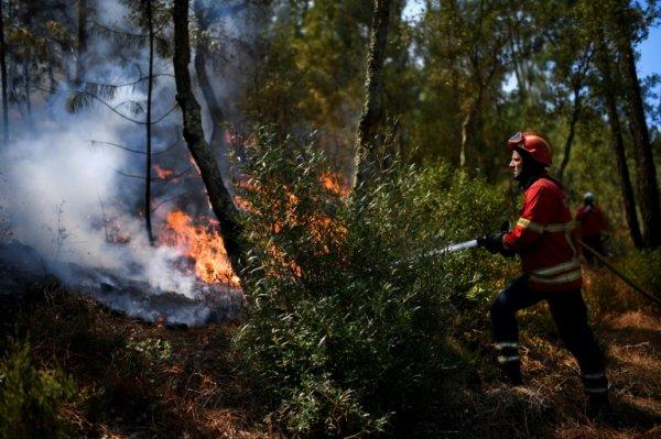 BIG ONE MONDIAL IMMINENT ET FIN DE VIE SUR TERRE ! ARRIVEE DE NIBIRU :Le Portugal sous la canicule, en proie à de violents incendies