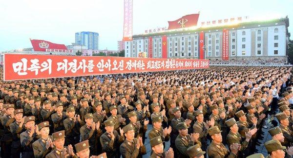 3 GUERRE MONDIAL 2017 EN MARCHE :ACCUEIL   CATÉGORIES »   NEWSLETTER   CONTACT Corée du Nord: 3,5 millions de volontaires pour combattre les États-Unis