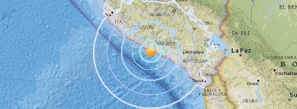 BIG ONE MONDIAL IMMINENT ET FIN DE VIE SUR TERRE ! ARRIVEE DE NIBIRU :Le tremblement de terre mortel M5.6 frappe la côte du sud du Pérou