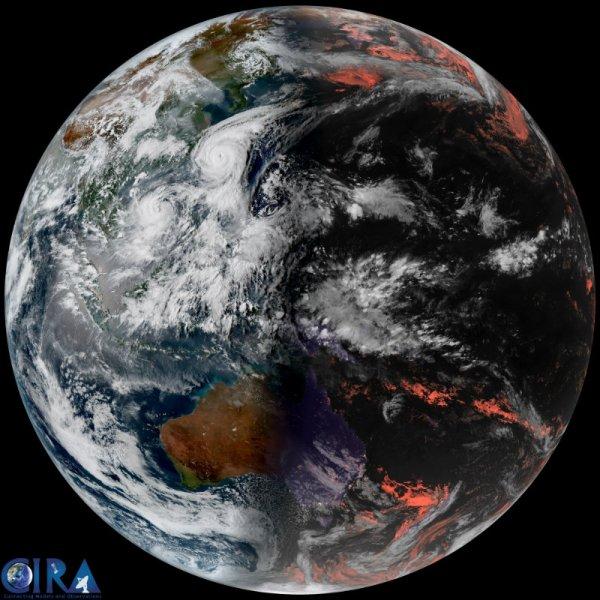 """BIG ONE MONDIAL IMMINENT ET FIN DE VIE SUR TERRE ! ARRIVEE DE NIBIRU :La tempête tropicale """"Doksuri"""" s'intensifie, l'atterrissage attendu dans le nord du Vietnam"""
