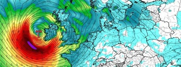 BIG ONE MONDIAL IMMINENT ET FIN DE VIE SUR TERRE ! ARRIVEE DE NIBIRU : Les modèles suggèrent qu'une tempête importante est sur le point de frapper l'Irlande et le Royaume-Uni