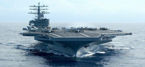 3 GUERRE MONDIAL 2017 EN MARCHE : L'USS Ronald Reagan au large de la péninsule coréenne ou la détente toujours tendue…