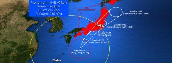 BIG ONE MONDIAL IMMINENT ET FIN DE VIE SUR TERRE ! ARRIVEE DE NIBIRU : Mise à jour du typhon «Lan» avant l'atterrissage par le météorologue Jonathan Oh