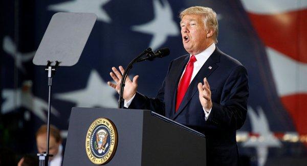 3 GUERRE MONDIAL 2017 EN MARCHE : Prêts à tel point que «vous serez choqués»: Trump confirme sa posture sur la Corée du Nord