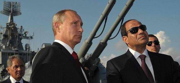 3 GUERRE MONDIAL 2017 EN MARCHE :La Russie négocie l'utilisation des bases militaires égyptiennes