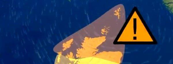 BIG ONE MONDIAL IMMINENT ET FIN DE VIE SUR TERRE ! ARRIVEE DE NIBIRU : Storm Caroline va frapper l'Ecosse avec de fortes pluies et des vents puissants, Royaume-Uni