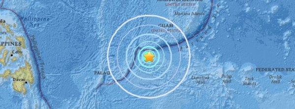 BIG ONE MONDIAL IMMINENT ET FIN DE VIE SUR TERRE ! ARRIVEE DE NIBIRU : Tremblement de terre M6.5 fort et peu profond a frappé l'état de Yap, Micronésie
