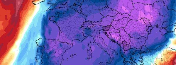 réchauffement climatique ( LOL) : Une autre importante flambée de froid menace toute l'Europe