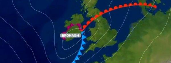 BIG ONE MONDIAL IMMINENT ! ARRIVEE DE NIBIRU : La tempête Ali laisse 2 morts dans son sillage alors que la tempête Bronagh menace l'Irlande et le Royaume-Uni, la troisième tempête est attendue samedi