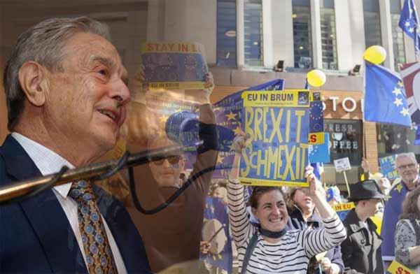 NOUVEL ORDRE MONDIAL : Royaume-Uni : Le groupe anti-Brexit soutenu par Soros vise à organiser un deuxième référendum