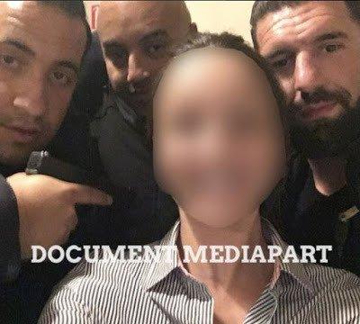 NOUVEL ORDRE MONDIAL : En pleine présidentielle, Benalla dégaine son arme pour un selfie... dans un restaurant