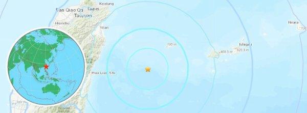 BIG ONE MONDIAL IMMINENT ! ARRIVEE DE NIBIRU : Fort séisme M6.0 frappe au large de Hualien, Taiwan