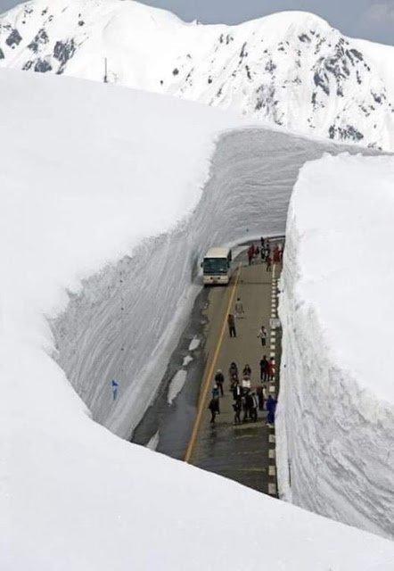 BIG ONE MONDIAL IMMINENT ! ARRIVEE DE NIBIRU : SUREMENT LE RECHAUFEMENT CLIMATIQUE ! LOL : Tateyama Kurobe (Japon)