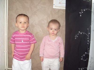 (m) Kylian et Maélys (l)