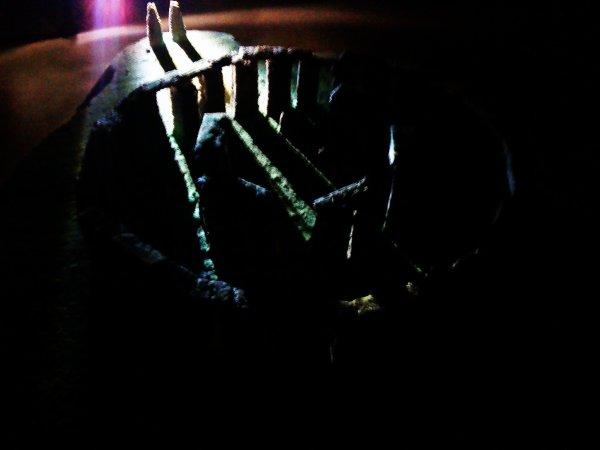Stonehenge ,de nuit ( simulation d équinoxe )