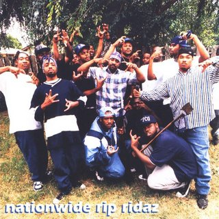 Nationwide Rip Ridaz (Crips) - Nationwide Rip Ridaz (1995)