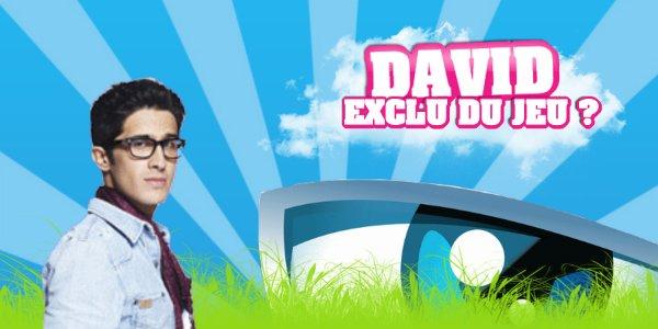 URGENT ! David a été exclu du jeu ! Info ou intox ?