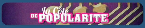 COTE DE POPULARITE - SEMAINE 5 - SONDAGE
