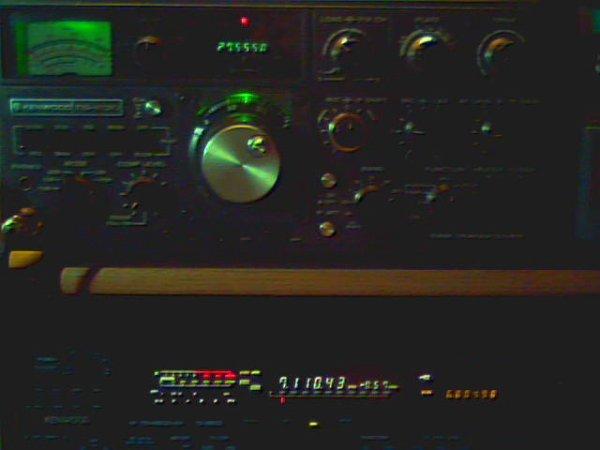 Kenwood ts820  version  eclairage vert
