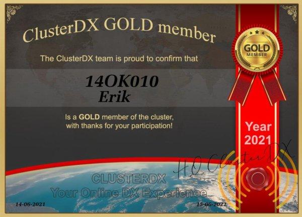 cluster dx