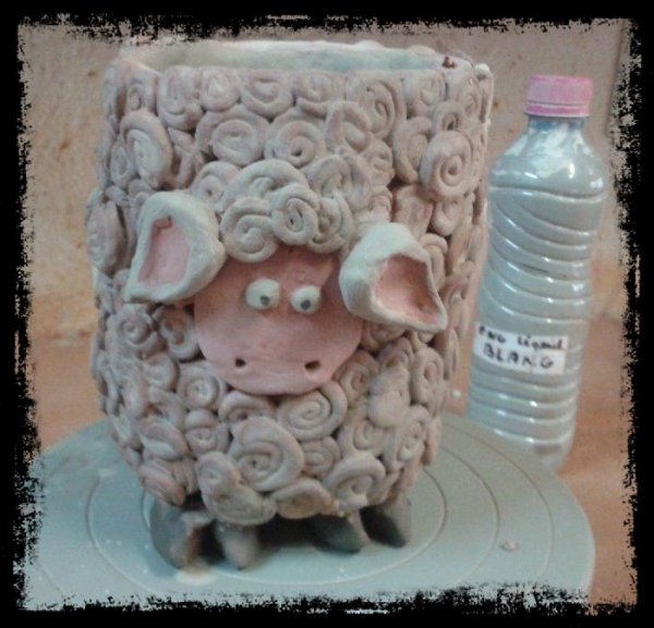 SHEEP CUP (modelage)