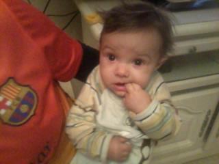 mon neveu quan il a ma alla bouche kjlmmm