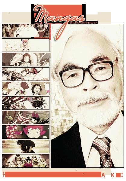 Réalisateur #1 - Hayao Miyazaki